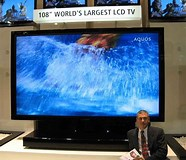 Image result for Largest LCD TV screen. Size: 186 x 160. Source: thefutureofthings.com