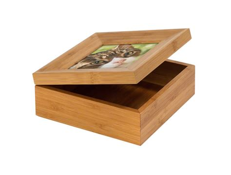 ashes box tribute frames and boxes cherry tree pet crematorium in kent