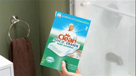clean magic eraser bath scrubber tv commercial crazy clean ispottv