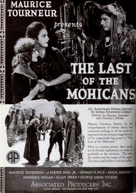 The Last American Wiki The Last Of The Mohicans 1920 American