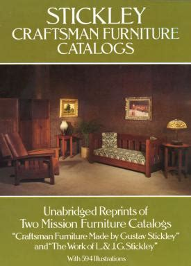 stickley craftsman furniture catalogs plans diy free