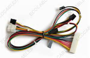 20 pin molex cable assembly custom electric wire harness replacement