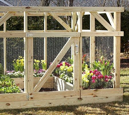 garden enclosure built  home depot garden club knock