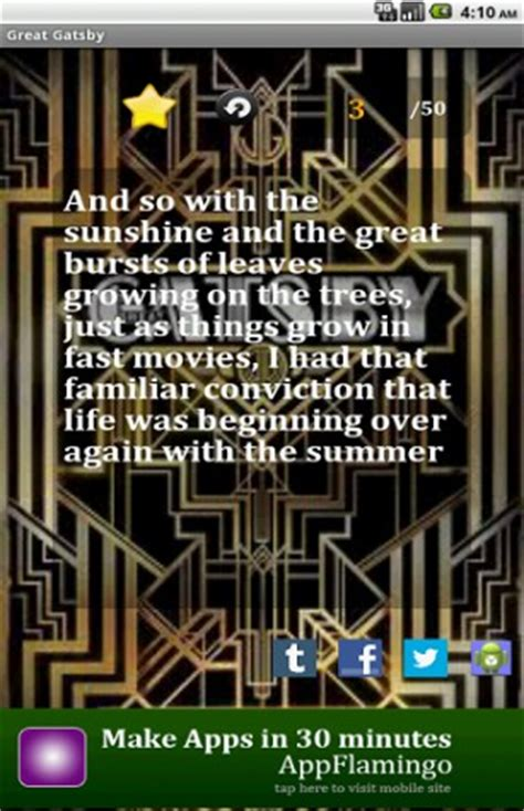 universal themes in the great gatsby download great gatsby quotes for android appszoom