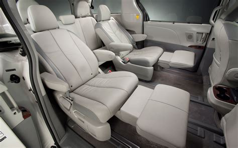 recliners for cers 2012 toyota sienna photo gallery photo gallery motor trend
