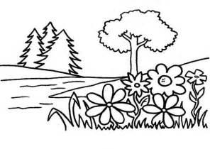 tree garden eden coloring netart