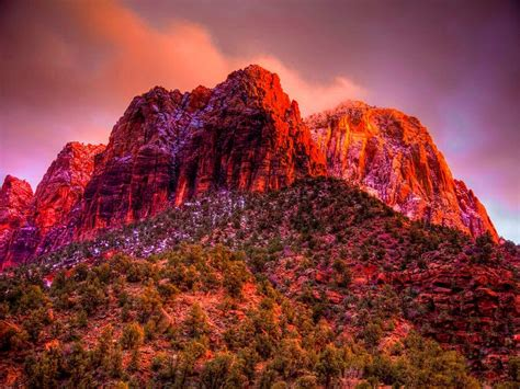red mountain wallpaper gallery