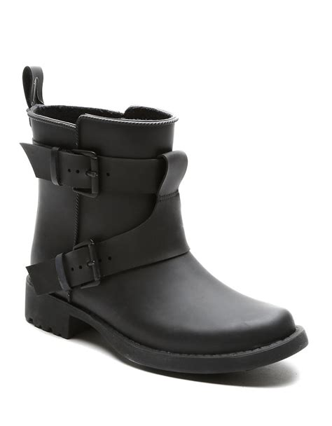 gentle souls boots gentle souls best rubber boots in black lyst