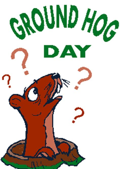 groundhog day horror do your thoughts create a groundhog day experience for you