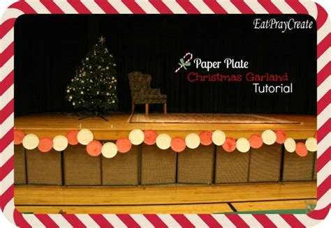 christmas stage decoration stage decoration for lights card and decore