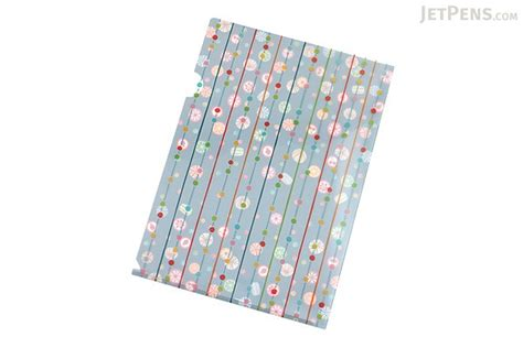 japanese pattern folders kurochiku japanese pattern clear folder a4 ame candy