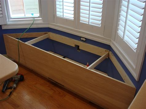 window bench with storage plans bay window seating bench with storage pollera org