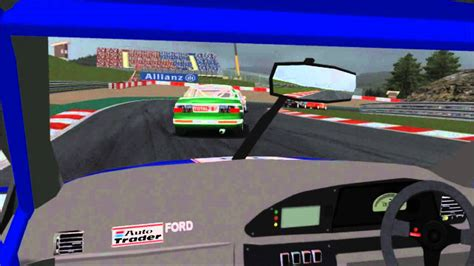 ford mondeo btcc  spa circuit  board youtube
