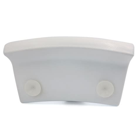 padded bathtub white luxurious foam padded spa bath pillow hot tub neck