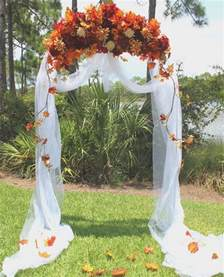 Fall Backyard Wedding Ideas Backyard Fall Wedding Outdoor Fall Wedding Arch Decoration Ideas Wedding