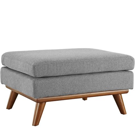 ottoman for gray engage modern button tufted upholstered corner ottoman