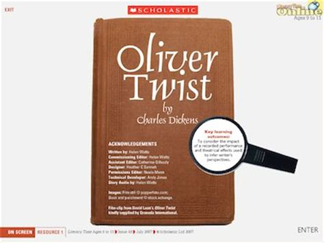 charles dickens biography for ks2 oliver twist multimedia resource primary ks2 teaching