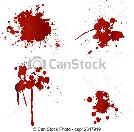 doodle blood vector clip of blood splatters csp12347919 search