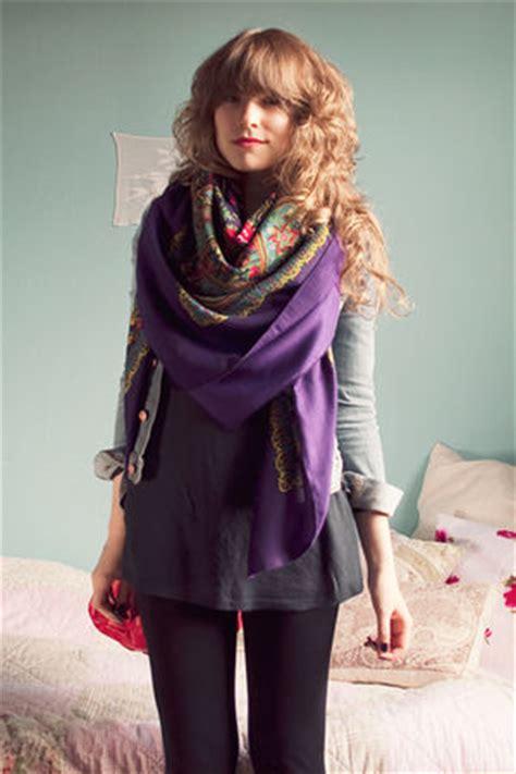 big scarf   wear big scarf trend chictopia