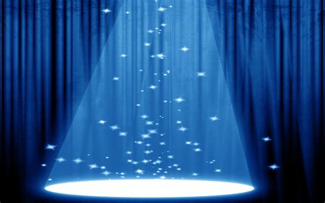 powerpoint templates stage light blue backgrounds wallpaper 115063