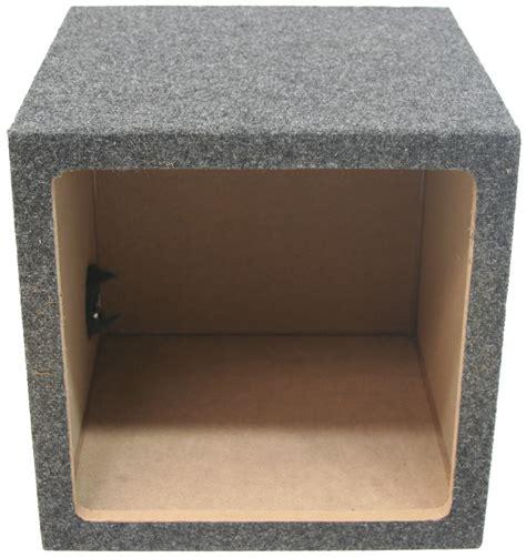 car audio single  sealed square  box enclosure fits