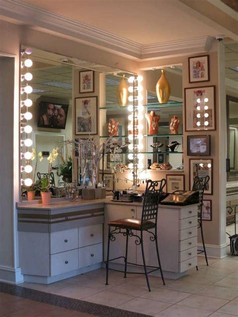 Make Up Yopie Salon makeup desk furnitureherpowerhustle herpowerhustle