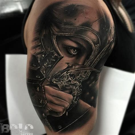 lady warrior tattoo designs bolo find the best artists anywhere in the