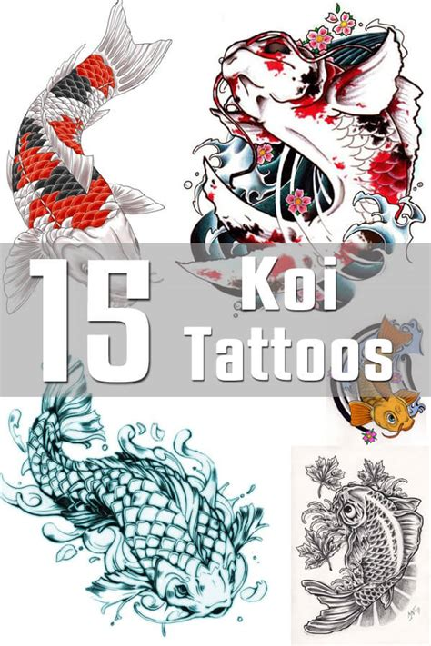 koi tattoo designs the body is a canvas