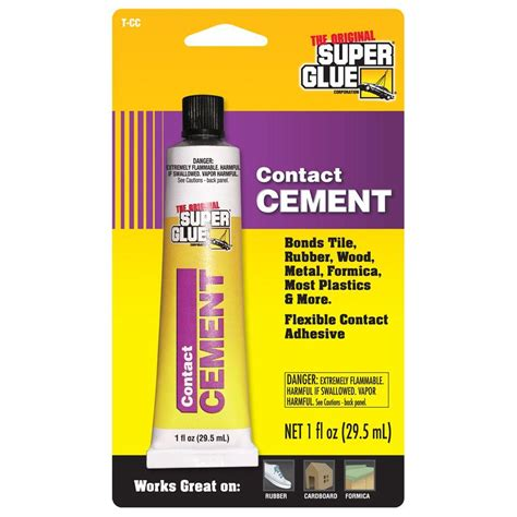 glue 1 fl oz contact cement 12 pack t cc the