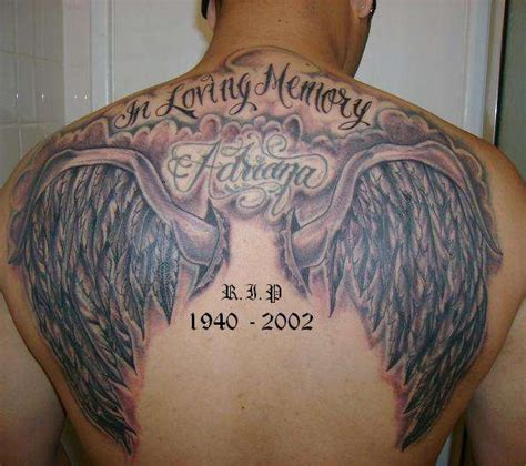 angel wings and cross tattoo afrenchieforyourthoughts pics of wings tattoos