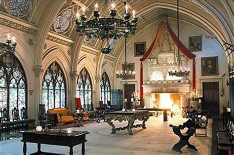 gothic revival characteristics gothic revival interior residential architecture