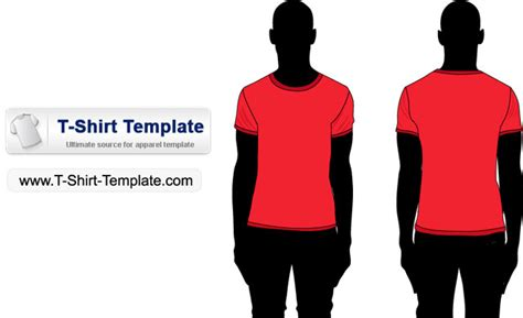 Kaos 33a t shirt template vector free by t shirt template on deviantart