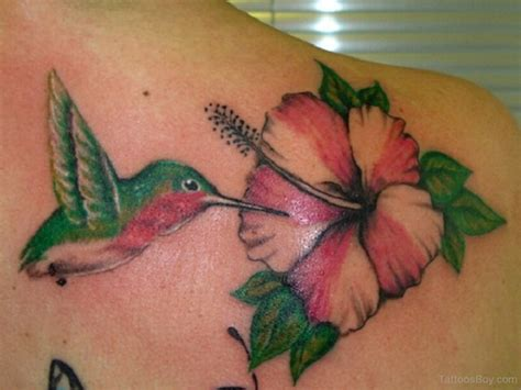 bird and flower tattoo designs hibiscus tattoos designs pictures page 11