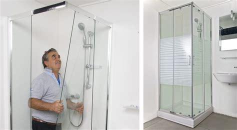 piatto doccia montaggio montaggio box doccia in kit quadrato o rettangolare