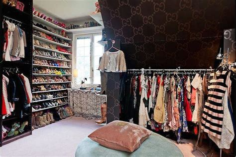 gucci bedroom wallpaper attic closet design ideas