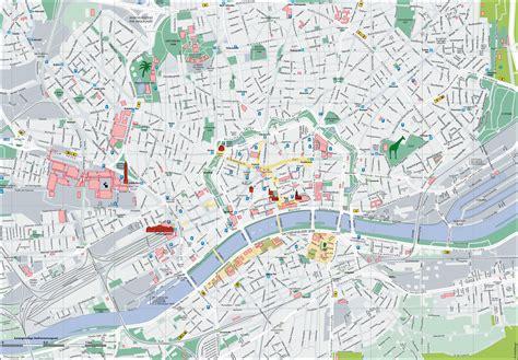 tourist map germany frankfurt tourist map
