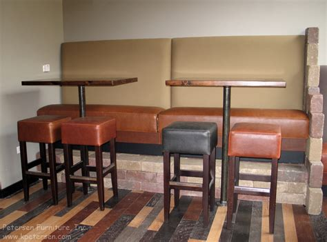 counter height banquette restaurantinteriors com 187 blog archive 187 upholstered