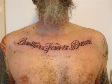 forever tattoo designs chest images designs