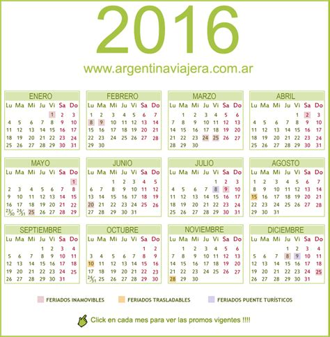 Calendario Actual 2016 Semanas Ano 2016 Calendar Template 2016