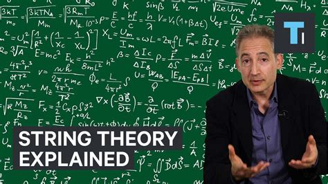 theory explained string theory explained