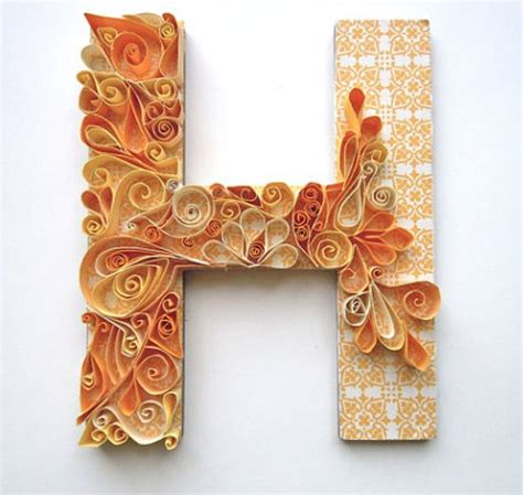 Monogram Ideas by Beginners Guide On Diy Quilling Paper Art Amp 43 Exceptional