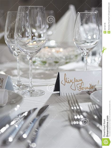 fancy table set for a wedding celebration stock photo fancy table set for a wedding party event royalty free