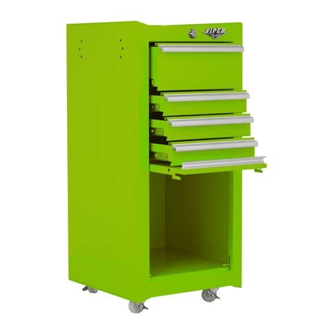 Lime Green Kitchen Ideas Viper Tool Storage 16 Inch 4 Drawer 18g Steel Tool Cart