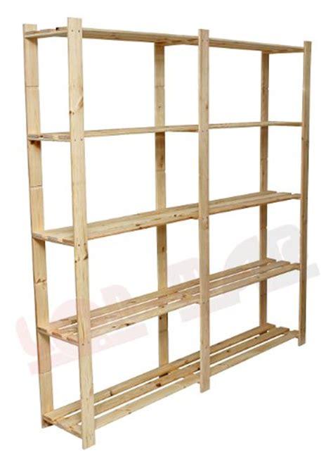 scaffali cantina lenmar b 02 scaffale in legno 5 ripiani per libreria