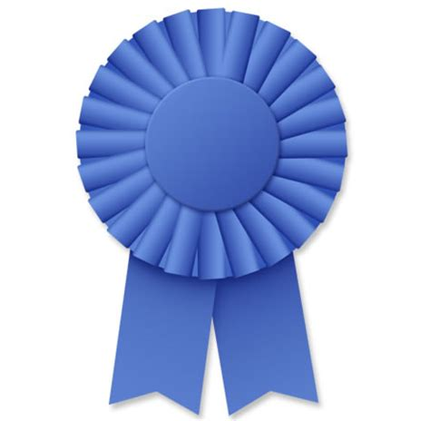 Blue Ribbon Rosette Psd Template Free Downloadable Image Ribbon Award Template