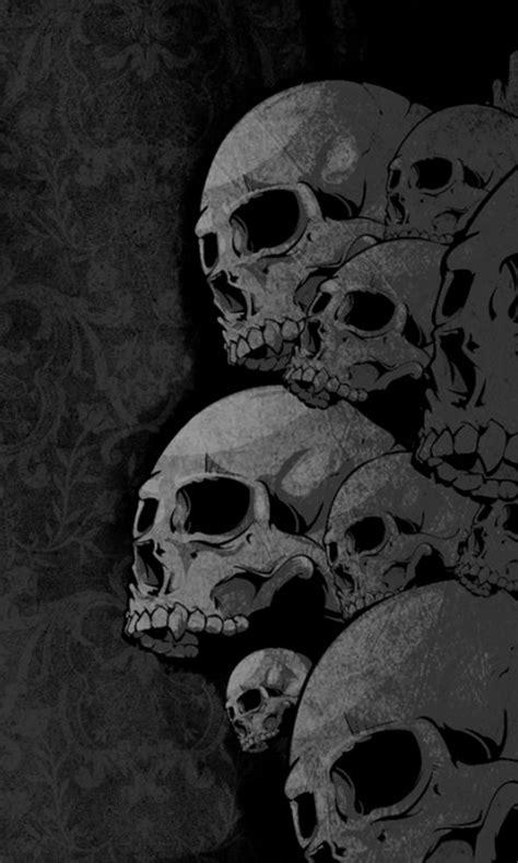 wallpaper hd android skull skull wallpaper android