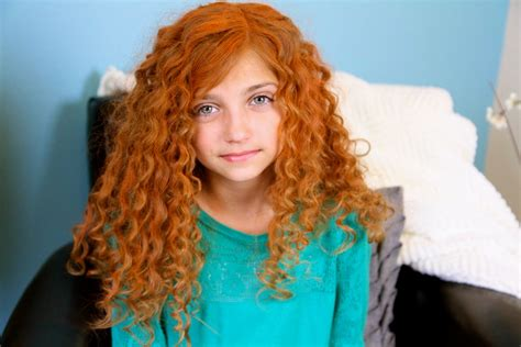 cute girl hairstyles rag curls little girl with curly red hair www pixshark com