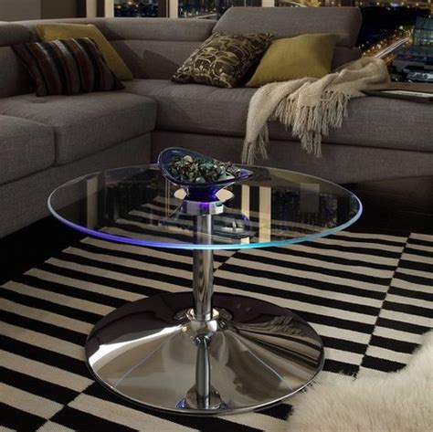 inspire  lorin cool  glass coffee table cocktail