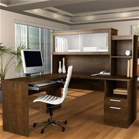 sutton l shaped desk with hutch everything else