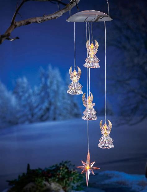 Deal Of The Day Solar Angel Windchime 8 97 Blog Etc